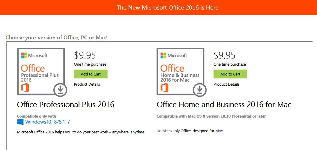 Microsoft Office Home Use Program (HUP)