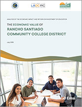 RSCCD Economic Impact Report cover