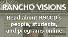 Read about RSCCD's people, students, and programs online.
